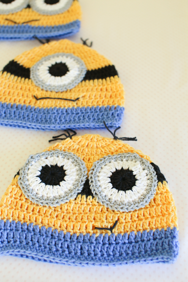 Handmade Minion Hats