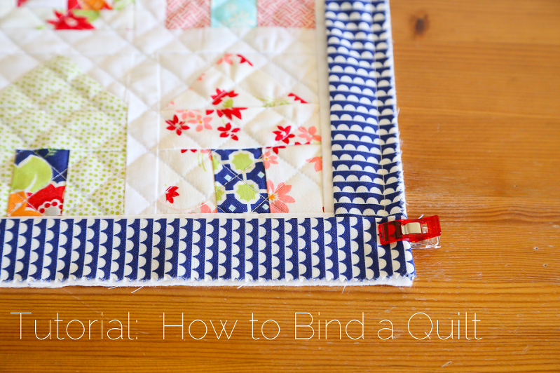 How to Double Bind a Quilt
