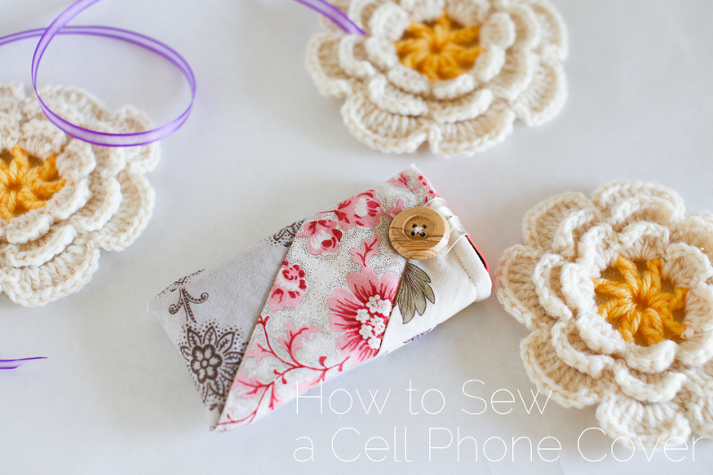 Cell Phone Cover Free Tutorial