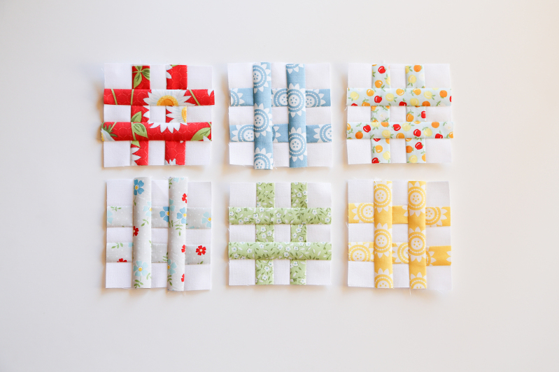 tic tac toe quilt, hash tag quilt, oh clementine fabric, mini quilts, wall quilts