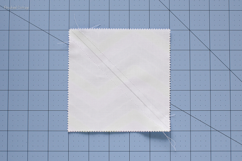 How to Sew Two Half Square Triangles-2