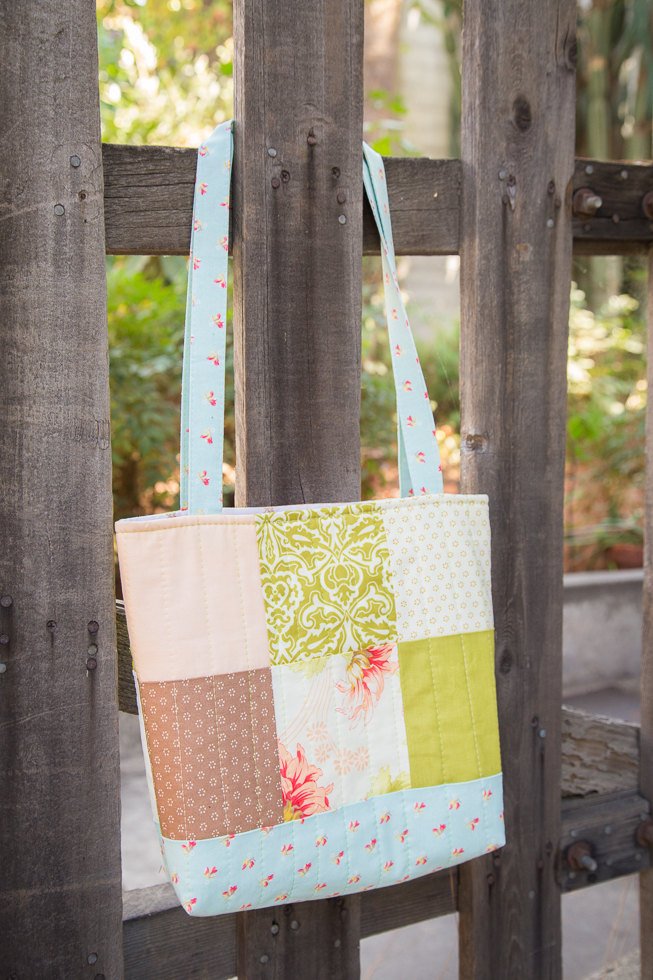 Simply Charmed Tote Bag Tutorial » Loganberry Handmade
