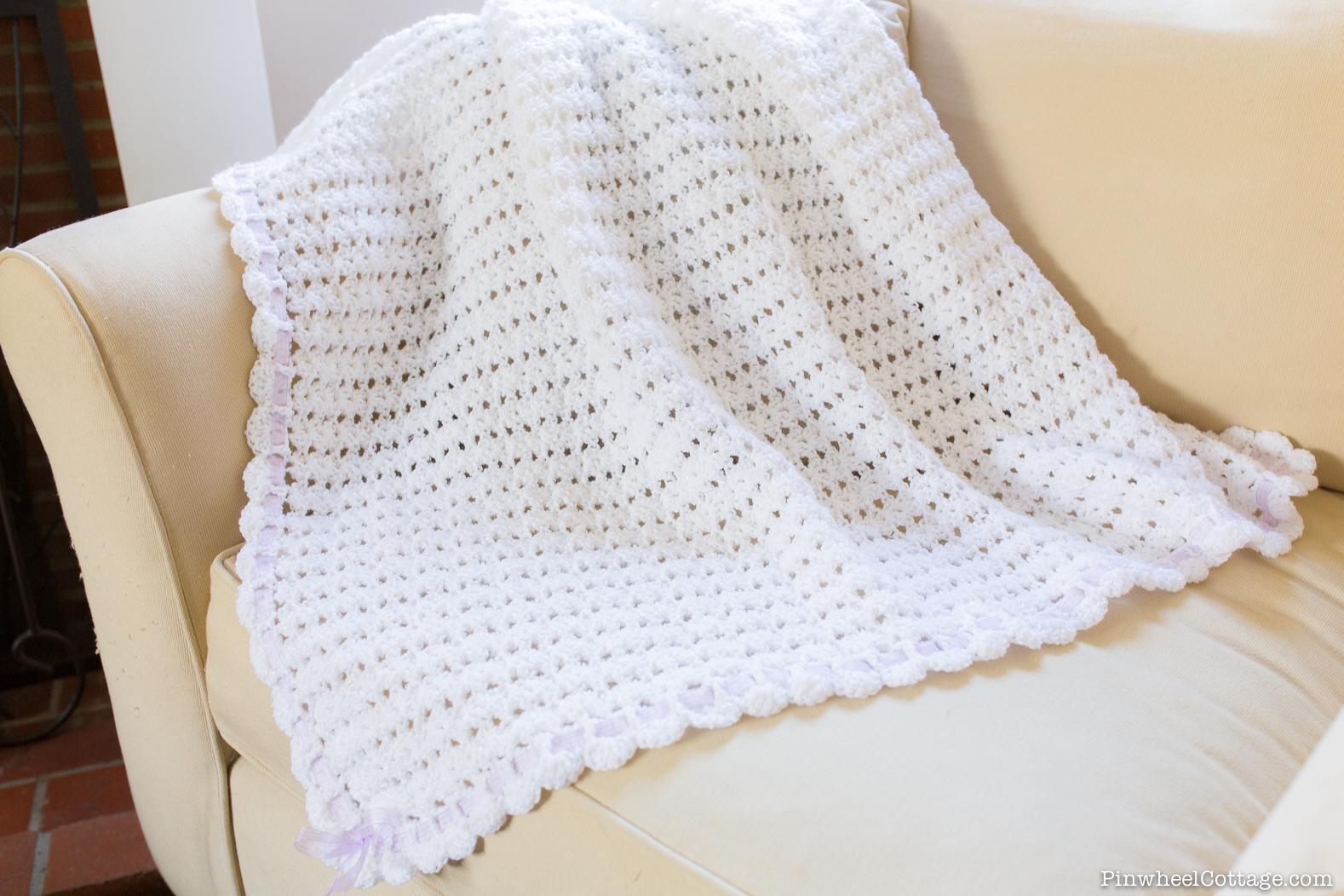 Sweet as Snow – Crochet Baby Afghan » Loganberry Handmade