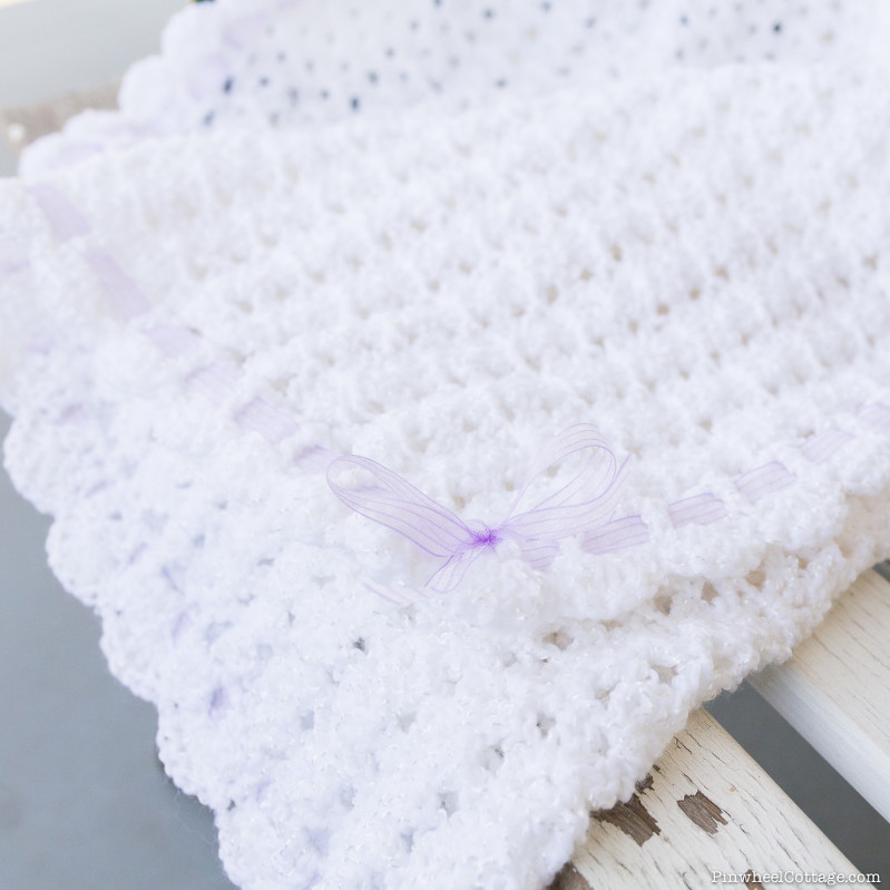 Sweet as Snow – Crochet Baby Afghan » Loganberry Handmade