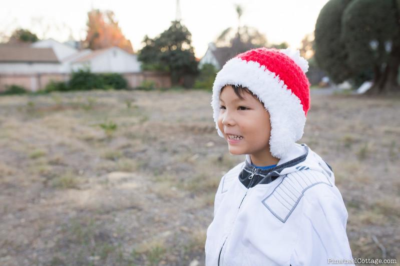 Crochet Santa Beanie