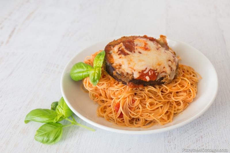 Eggplant Parmesean Pasta Recipe