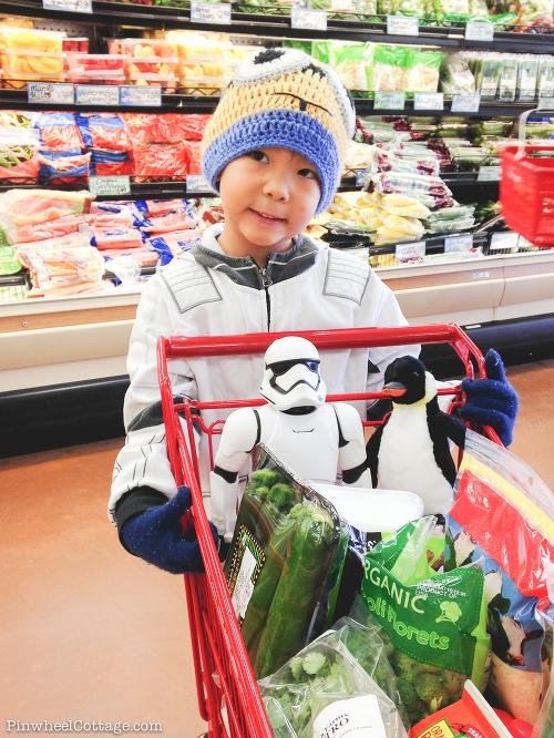 Stormtrooper at Trader Joe