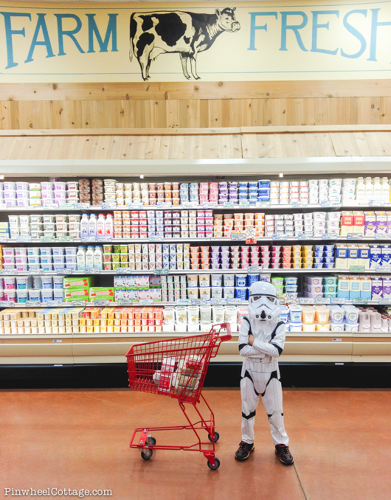 Stormtrooper at Trader Joe