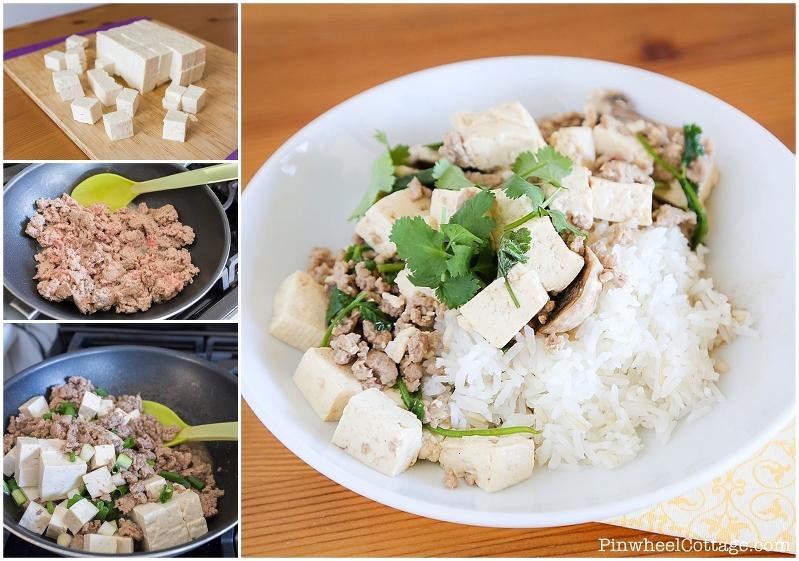 Tofu Turkey Stirfry