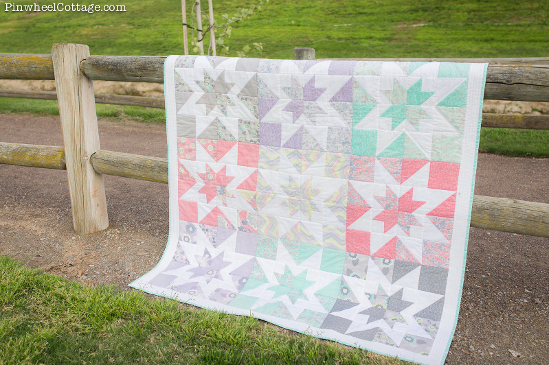 modern quilt, modern quilting, quilt stars, ohio stars quilt, variation stars quilt, true luck fabric, true luck quilt, layer cake quilt, charm squares quilt, 9 patch quilt, nine patch quilt