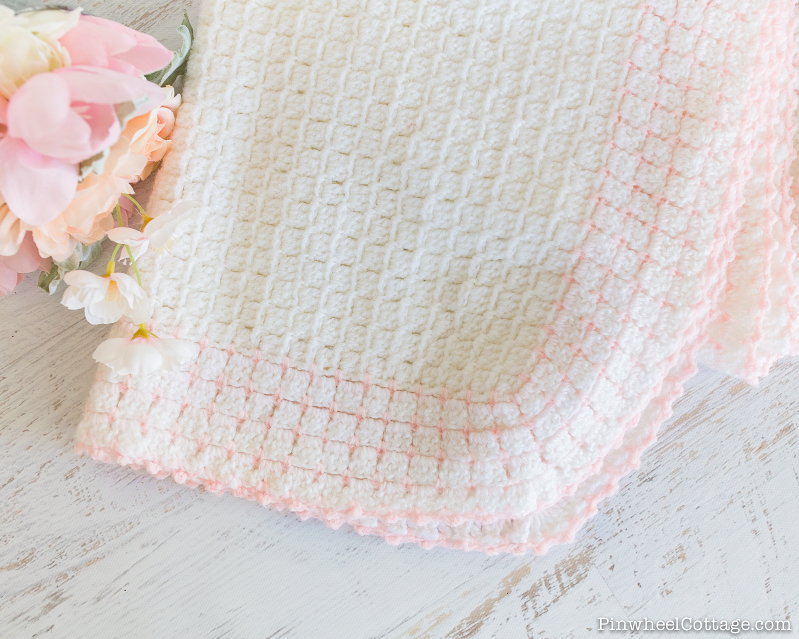 Heirloom Inspired Crochet Baby Afghan-8