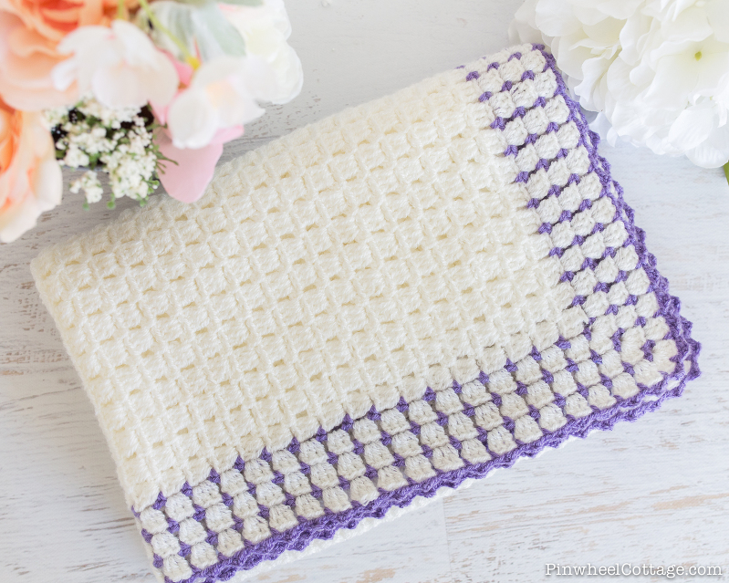 Heirloom Inspired Crochet Baby Blanket