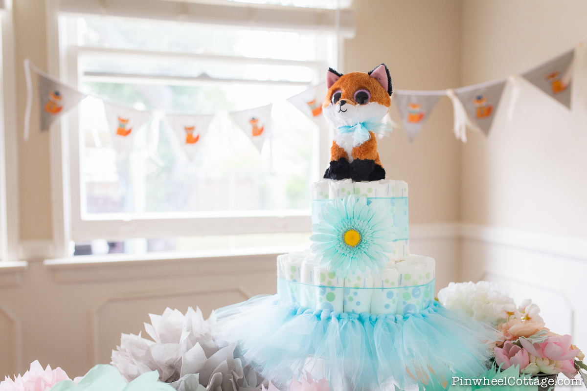 Diy Diaper Cake Tower For A Baby Shower 187 Loganberry Handmade