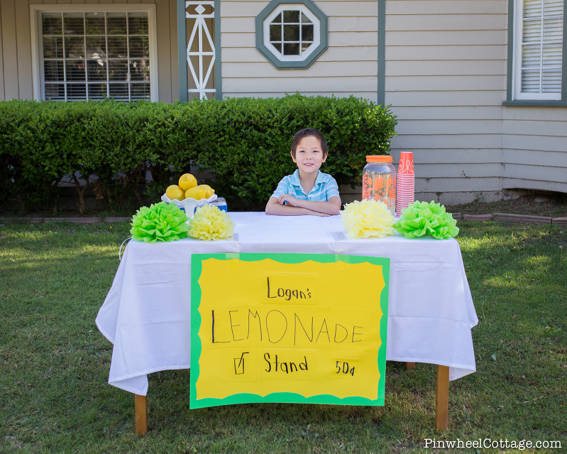 DIY Kids Lemonade Stand-2