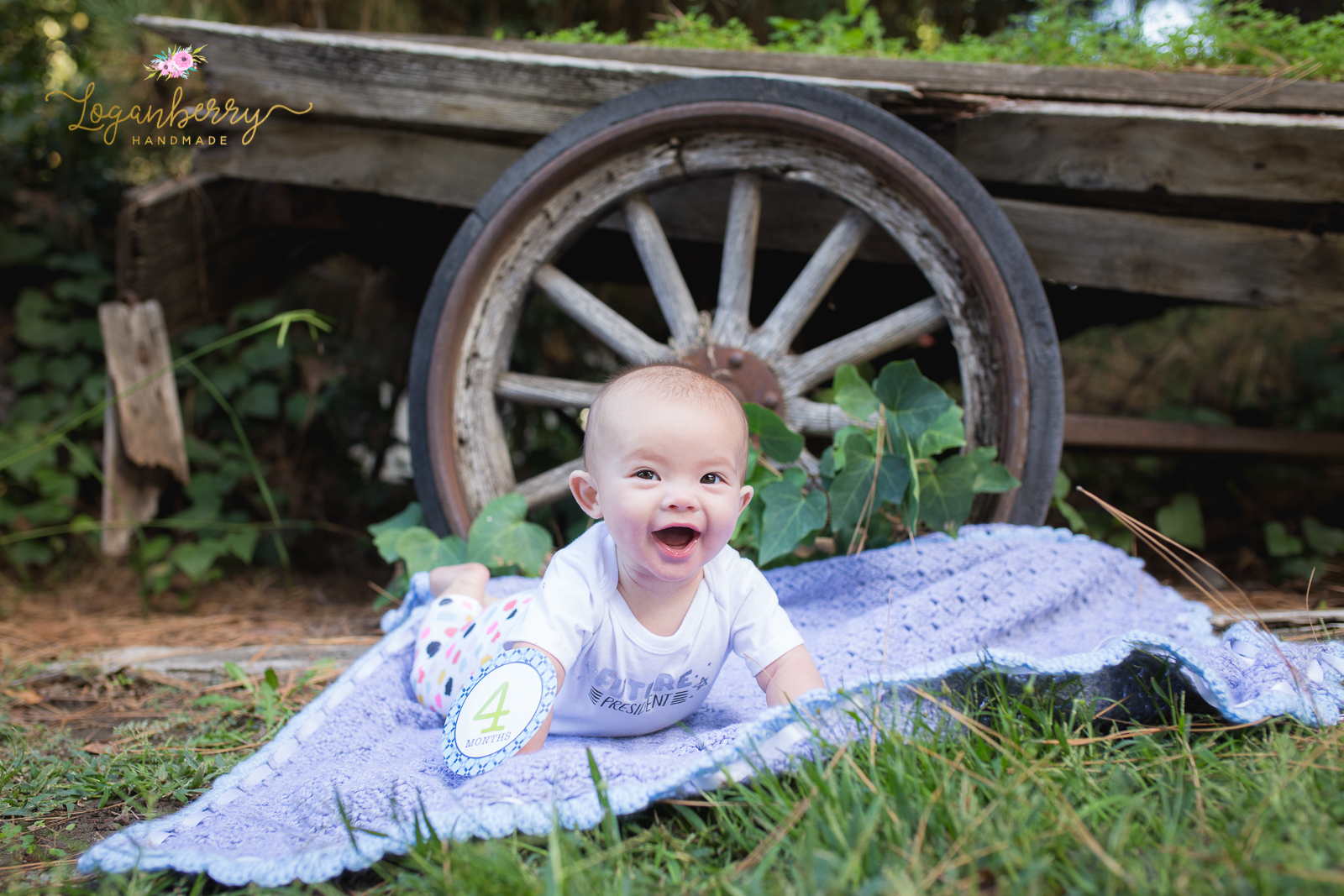 Miss Kayla Is 4 Months Old Loganberry Handmade