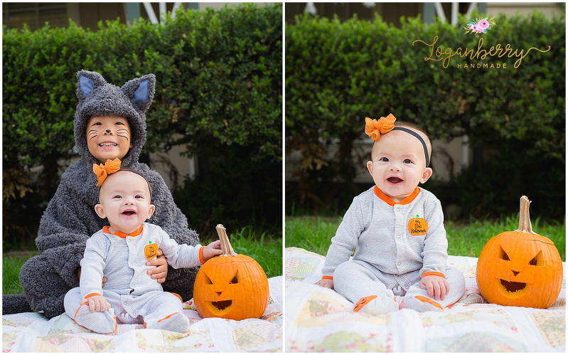 family halloween photos, diy cat costume, baby