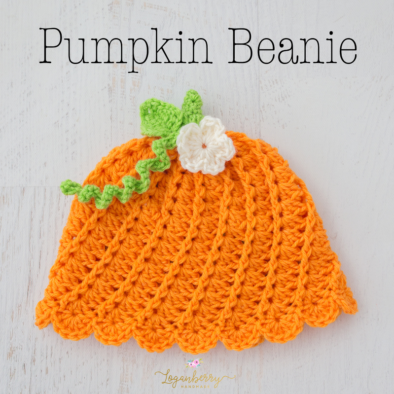 Little Pumpkin Beanie – Free Crochet Pattern » Loganberry Handmade