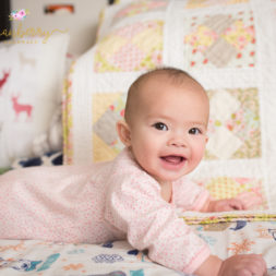 babies and quilts, quilting, baby on the bed, babies on quilts, baby photography