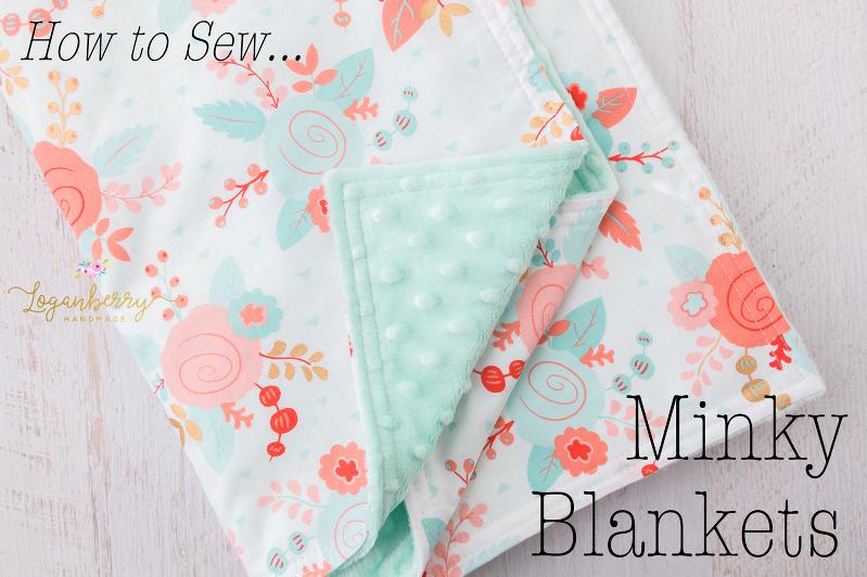 30-Minute Baby Blanket! » Loganberry Handmade