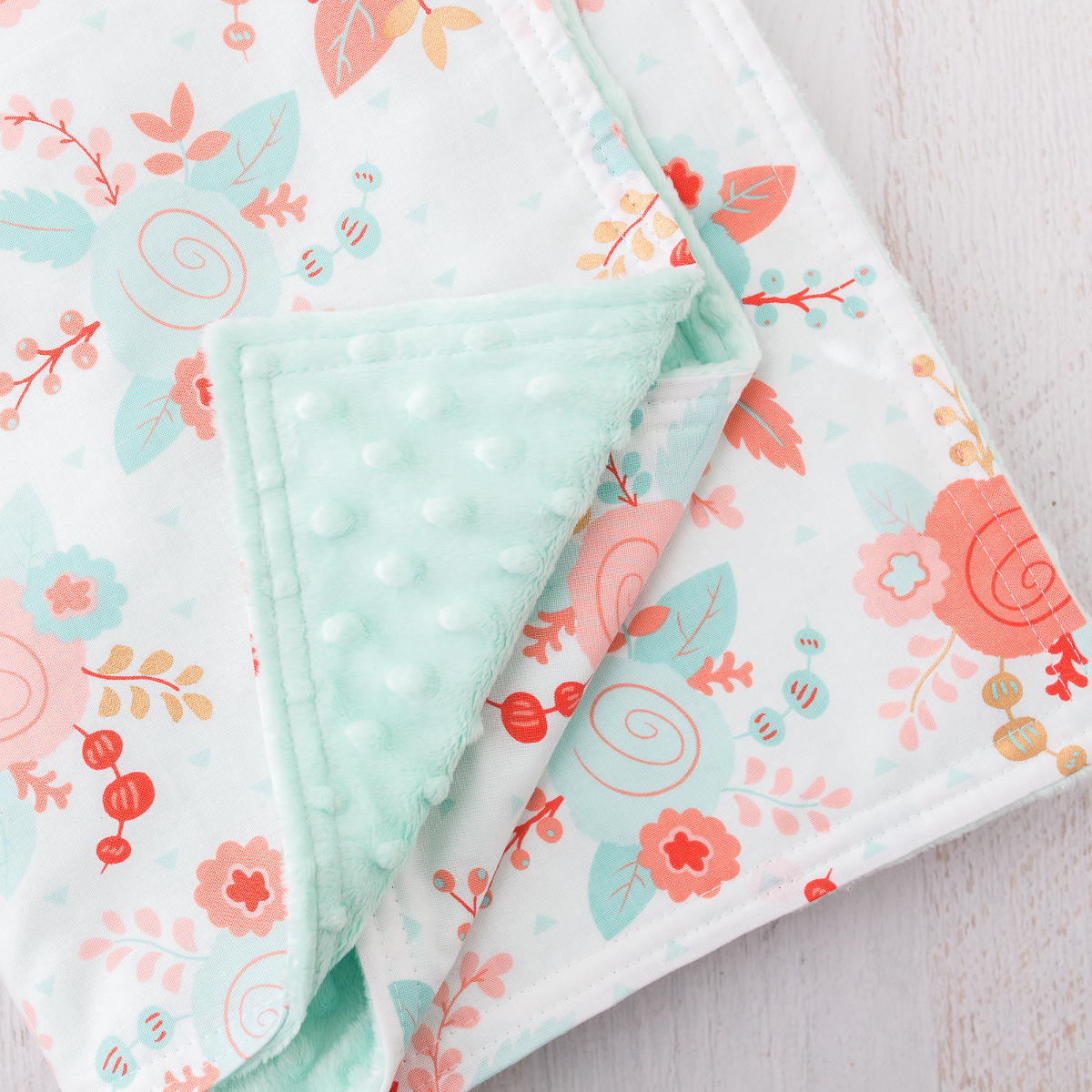 Minky Baby Blanket Tutorial 187 Loganberry Handmade