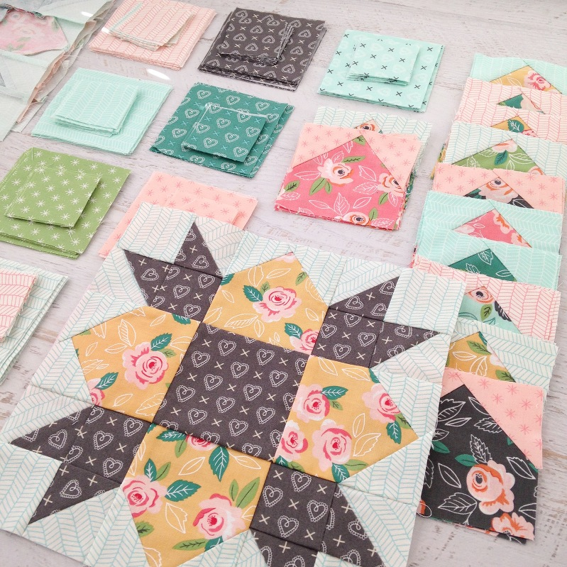 Sweethearts Quilt Block
