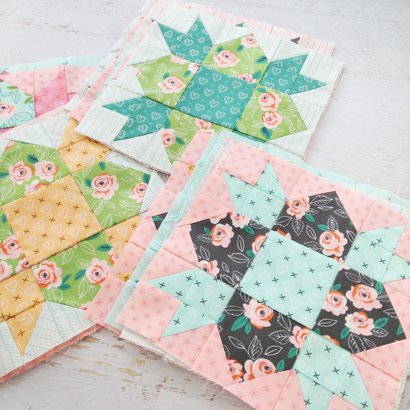 sugar pie quilt blocks, sugar pie fabric, weathervane quilt blocks