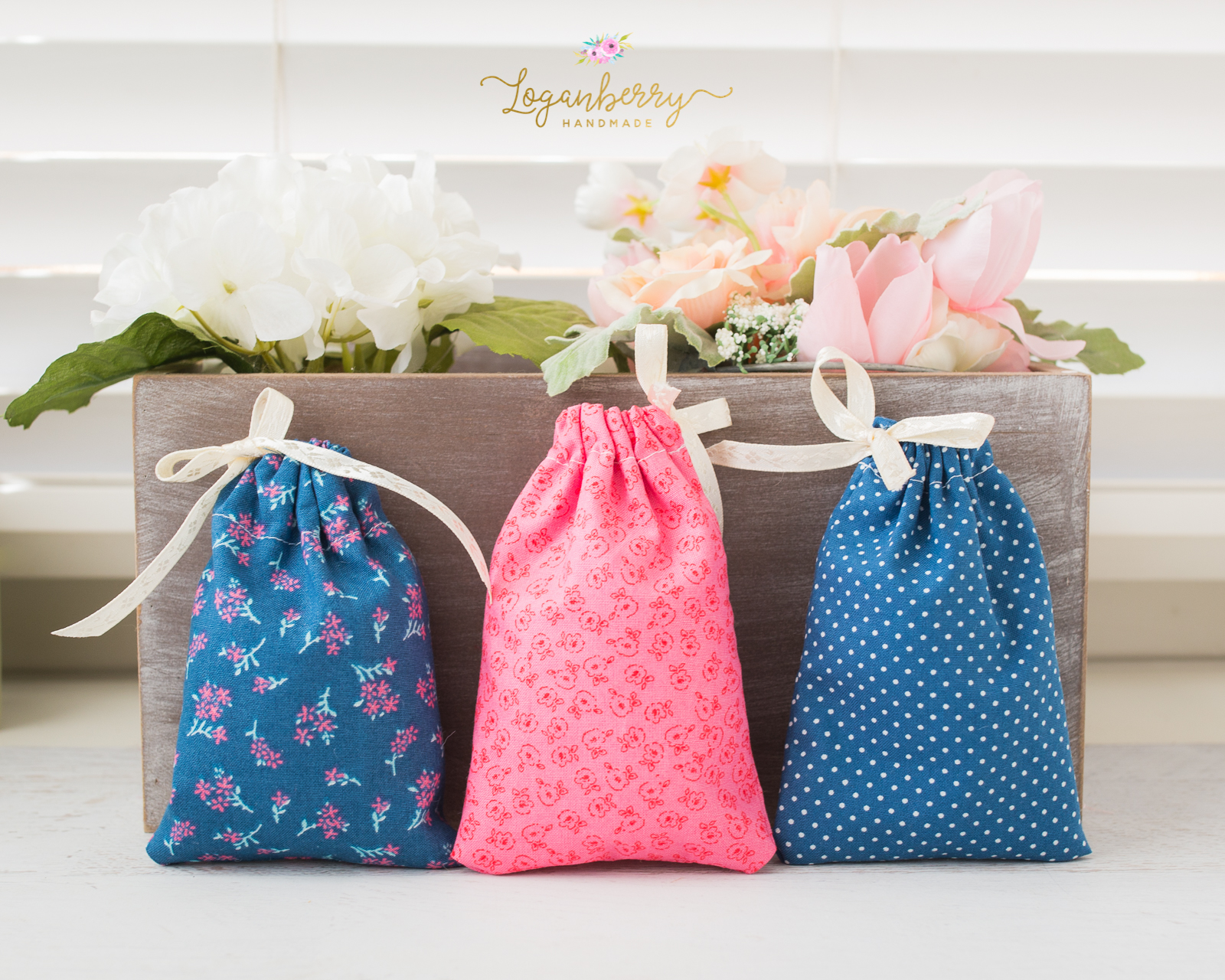 5 minute gift bags loganberry handmade negle Gallery