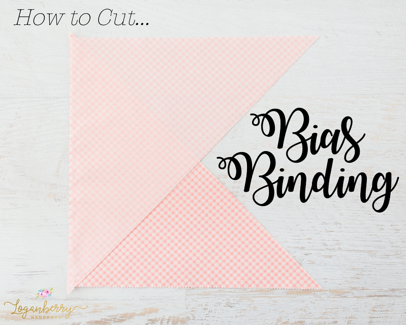 How to Cut Bias Binding + Sewing Tutorial