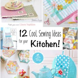 12 Cool Sewing Ideas for Your Kitchen!