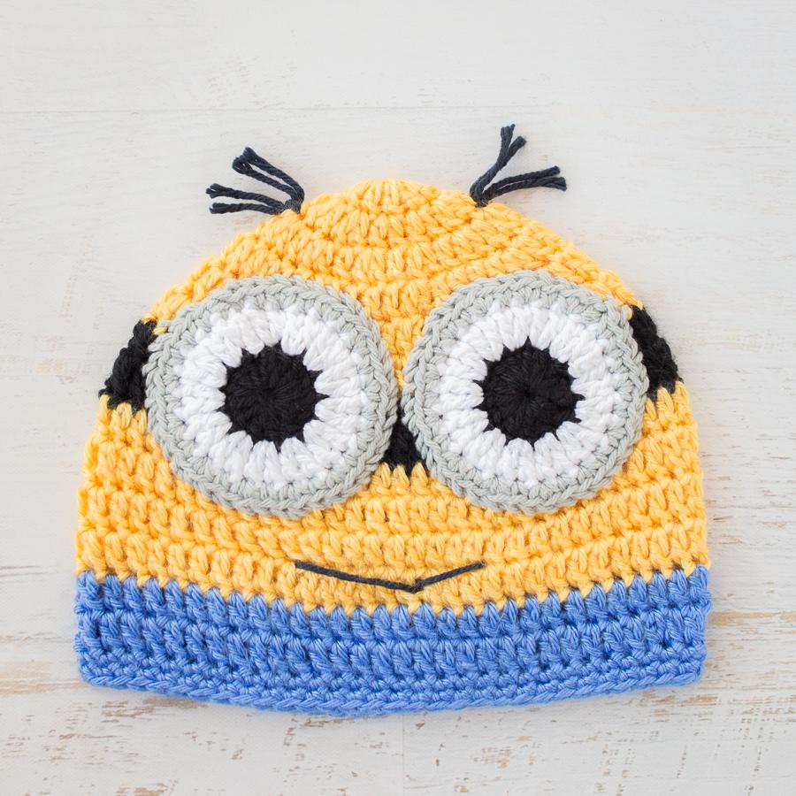 Crochet Minions Beanie – Free Pattern! » Loganberry Handmade 1d1df64ead7c